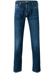 Paul Smith Ps By Skinny Jeans Men Cotton Spandex Elastane 32 34 Blue