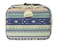Roxy Daily Break Lunch Bag Rose Quartz Havana Tile Wallet Blue
