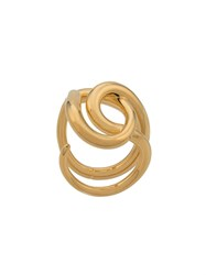 Charlotte Chesnais Blaue Knot Ring Gold
