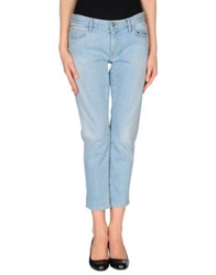 Koral Denim Pants Blue
