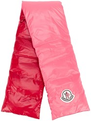 Moncler Padded Scarf Pink
