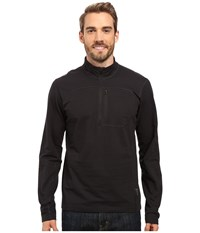 Mountain Hardwear Cragger 1 2 Zip Top Black Men's Long Sleeve Pullover