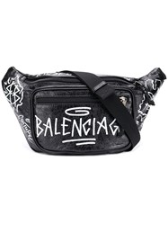 Balenciaga Explorer Belt Bag Black
