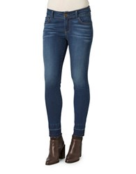 Democracy Skinny Fit Whiskered Jeans Blue