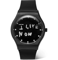 Takahiromiyashita Thesoloist. Everyday Rubber Watch Black