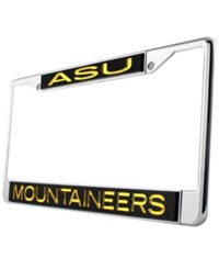 Stockdale Appalachian State Mountaineers Laser License Plate Frame Team Color