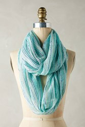 Anthropologie Mint Infinity Scarf
