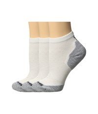 Smartwool Phd Run Elite Low Cut Pattern White Light Gray Women's Low Cut Socks Shoes