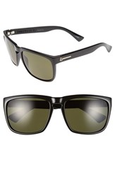Electric Eyewear Women's Electric 'Knoxville Xl' 61Mm Polarized Sunglasses Gloss Black Grey Polar