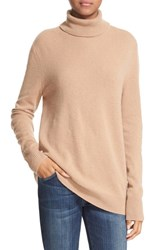 Equipment Women's 'Oscar' Cashmere Turtleneck Camel