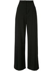 Camilla And Marc Front Pleat Wide Leg Trousers Black