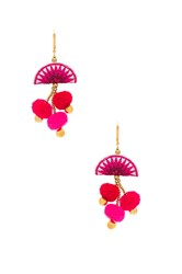 Shashi Zoe Earring Metallic Gold