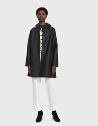 Stutterheim Mosebacke Rain Jacket In Black