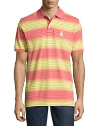 Psycho Bunny Striped Polo Shirt Multi