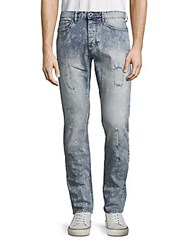 Calvin Klein Slim Fit Five Pocket Jeans Glacier