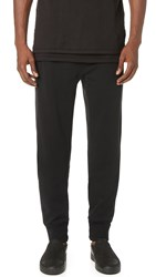 3.1 Phillip Lim Nylon Combo Classic Leisure Pants Soft Black