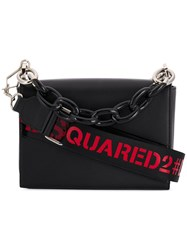 Dsquared2 Cable Chain Tote Bag Black