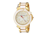 Betsey Johnson Bj00459 10 Bow White Enamel Gold White Watches Multi