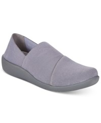 Clarks Collection Women's Cloud Steppers Sillian Firn Sneakers Women's Shoes Grey