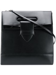 Golden Goose Deluxe Brand Foldover Tote Leather Black