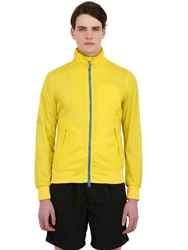 Invicta Light Nylon Windbreaker Jacket Yellow