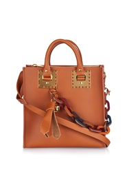 Sophie Hulme Albion Square Structured Leather Tote