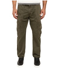 Ag Adriano Goldschmied Scout Modern Cargo In Sulfur Army Green Sulfur Army Green Men's Casual Pants Brown