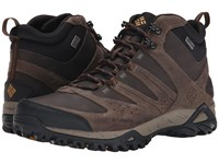 Columbia Peakfreak Xcrsn Mid Leather Outdry Mud Caramel Men's Hiking Boots Gray
