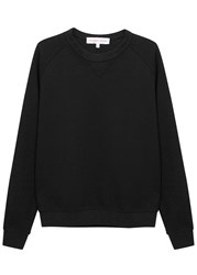 Orlebar Brown Fulton Black Cotton Blend Sweatshirt