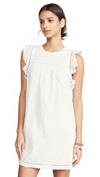 Knot Sisters Sissy Dress White Eyelet