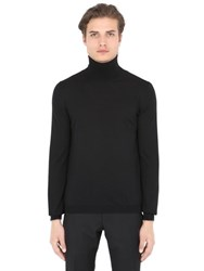 Boglioli Wool Turtleneck Sweater