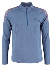 Asics Long Sleeved Top Poseidon Heather Mottled Blue