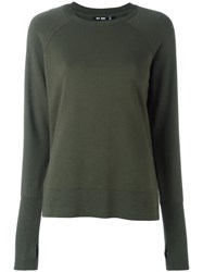 Blk Dnm Crew Neck Sweatshirt Green