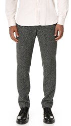 Brooklyn Tailors Donegal Fleck Trousers Charcoal