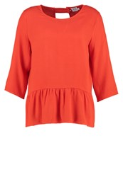 Saint Tropez Blouse Spice Red