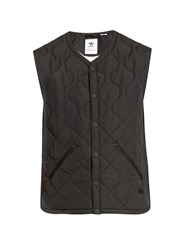 Adidas Originals By Wings Horns Insulated Sleeveless Zip Through Top Black