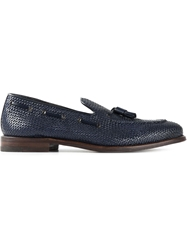 Henderson Fusion Woven Loafers Blue