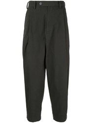 08Sircus Tapered Trousers Black