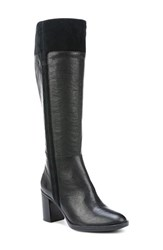 Naturalizer Women's 'Frances' Tall Boot Black Leather