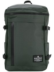 Makavelic Rectangle Daypack Polyester Grey