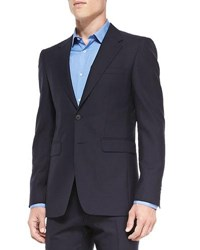 Burberry Modern Fit Wool Suit Navy