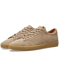 Fred Perry Spencer Suede Crepe Sole Sneaker Brown