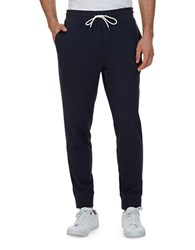Nautica Slim Fit French Terry Jogger Pants True Navy