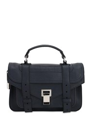 Proenza Schouler Ps1 Tiny Leather Bag Navy