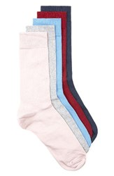 Topman Men's Assorted 5 Pack Socks