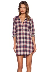 Cp Shades Teton Plaid Button Up Red