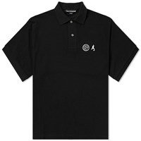 Gosha Rubchinskiy Football Polo Black