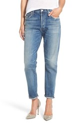 Women's Citizens Of Humanity 'Liya' High Rise Slim Boyfriend Jeans Fade Out