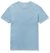 Alex Mill Slim Fit Cotton Jersey T Shirt Blue
