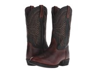 Ariat Comeback Plank Brown Black Brush Off Cowboy Boots